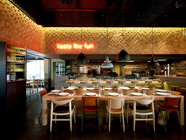 Barque restaurant by k studio athens retail design