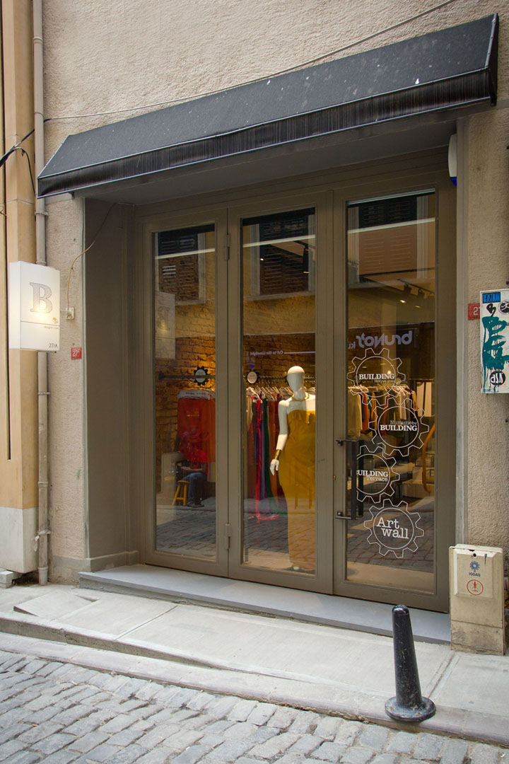 187 Building Galata Design Store By Building Istanbul
