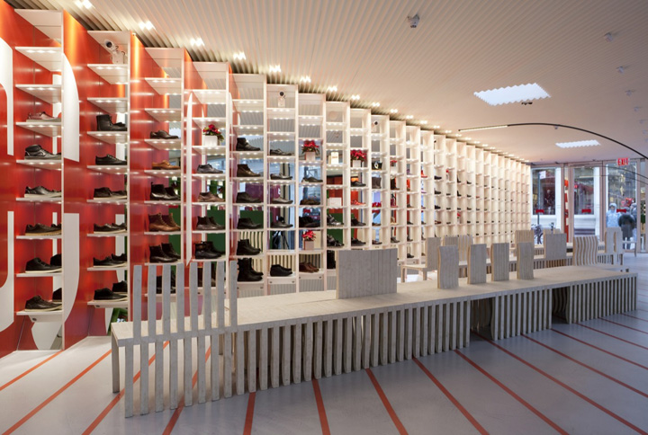 SHOE STORES! Camper's House of Shoes by Shigeru Ban & Dean Maltz