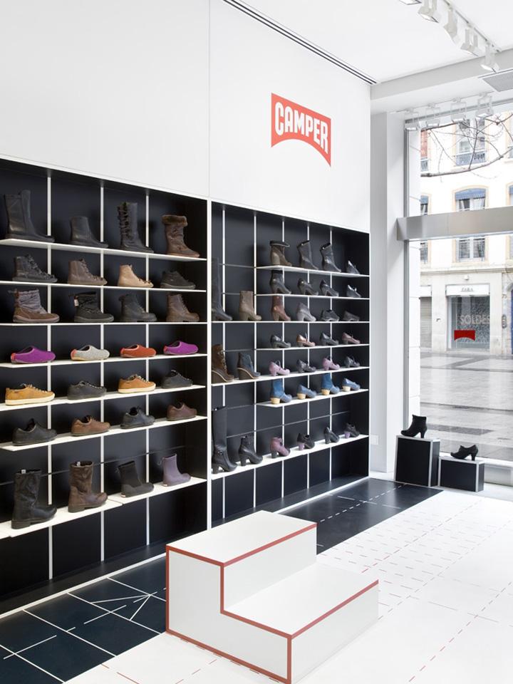 187 Shoe Stores Camper Store By Studio Makkink Amp Bey Lyon
