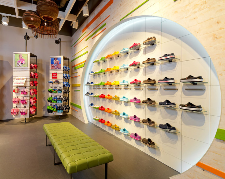 221721f44caee7 Crocs flagship store by The One Off