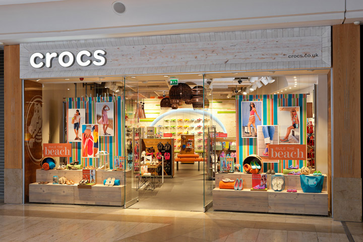 Crocs flagship store by The One Off