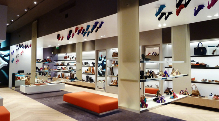 Shoe Stores Dune Catwalk Shoe Store By Four By Two Retail Design Blog