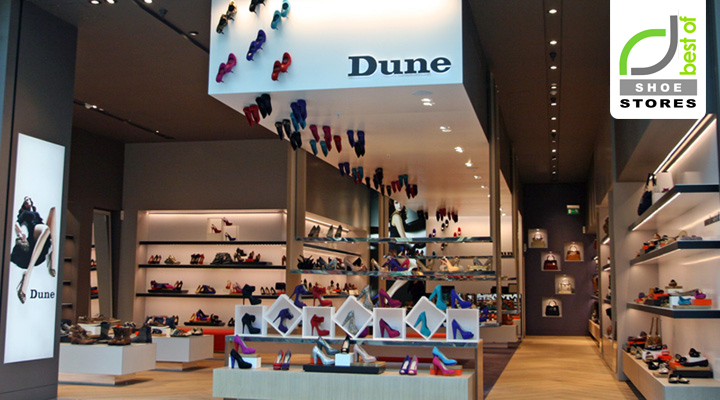 187 Shoe Stores Dune Catwalk Shoe Store By Four By Two