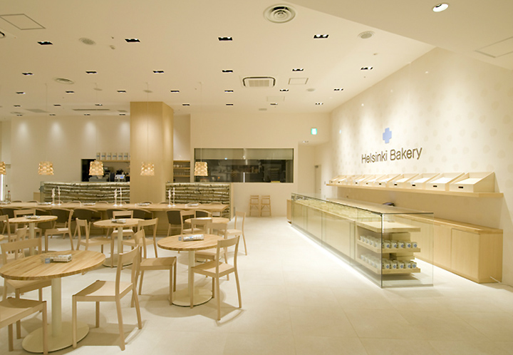 Helsinki Bakery By Arihoro Mikaye Osaka Retail Design Blog
