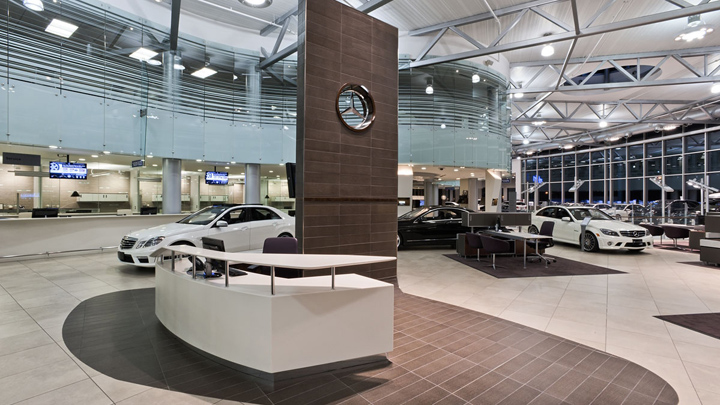 Mercedes benz dealership by gh a burlington canada for Mercedes benz dealers in michigan