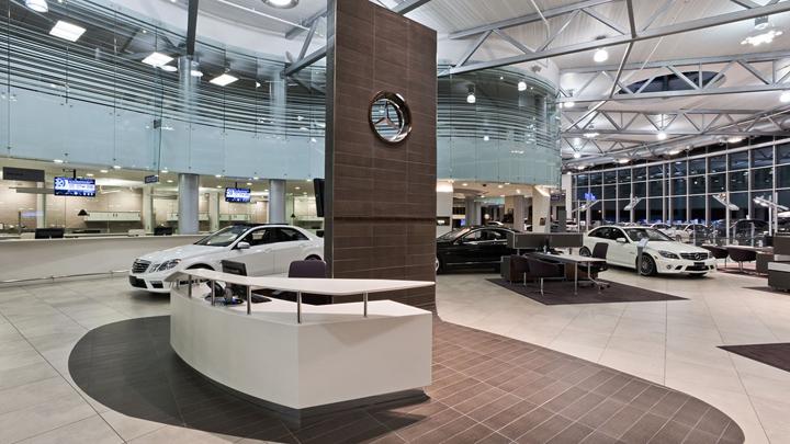 187 Mercedes Benz Dealership By Gh A Burlington Canada