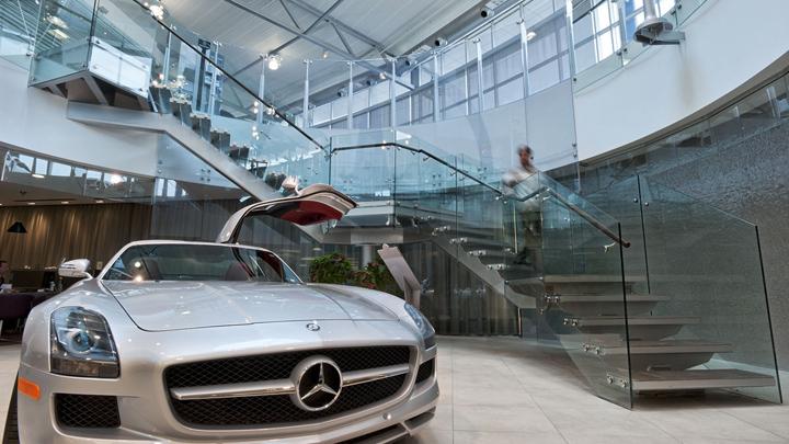 Third Street Promenade >> Mercedes-Benz dealership by GH+A, Burlington – Canada » Retail Design Blog