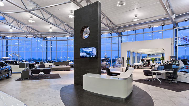 » Mercedes-Benz Dealership By GH+A, Burlington