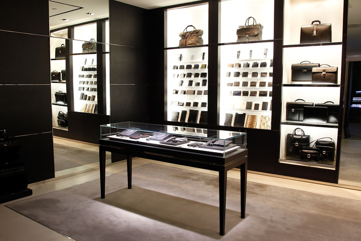 montblanc flagship store beijing retail design blog. Black Bedroom Furniture Sets. Home Design Ideas