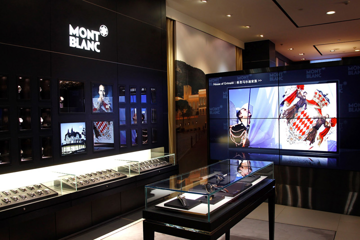 montblanc flagship store beijing. Black Bedroom Furniture Sets. Home Design Ideas