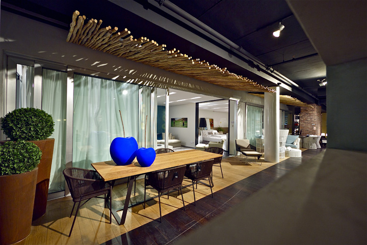 Penthouse showroom Studio Yaron Tal Tel Aviv 03 Penthouse furniture showroom by Studio Yaron Tal, Tel Aviv