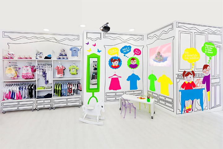 Children fashion store by masquespacio valencia spain kids store