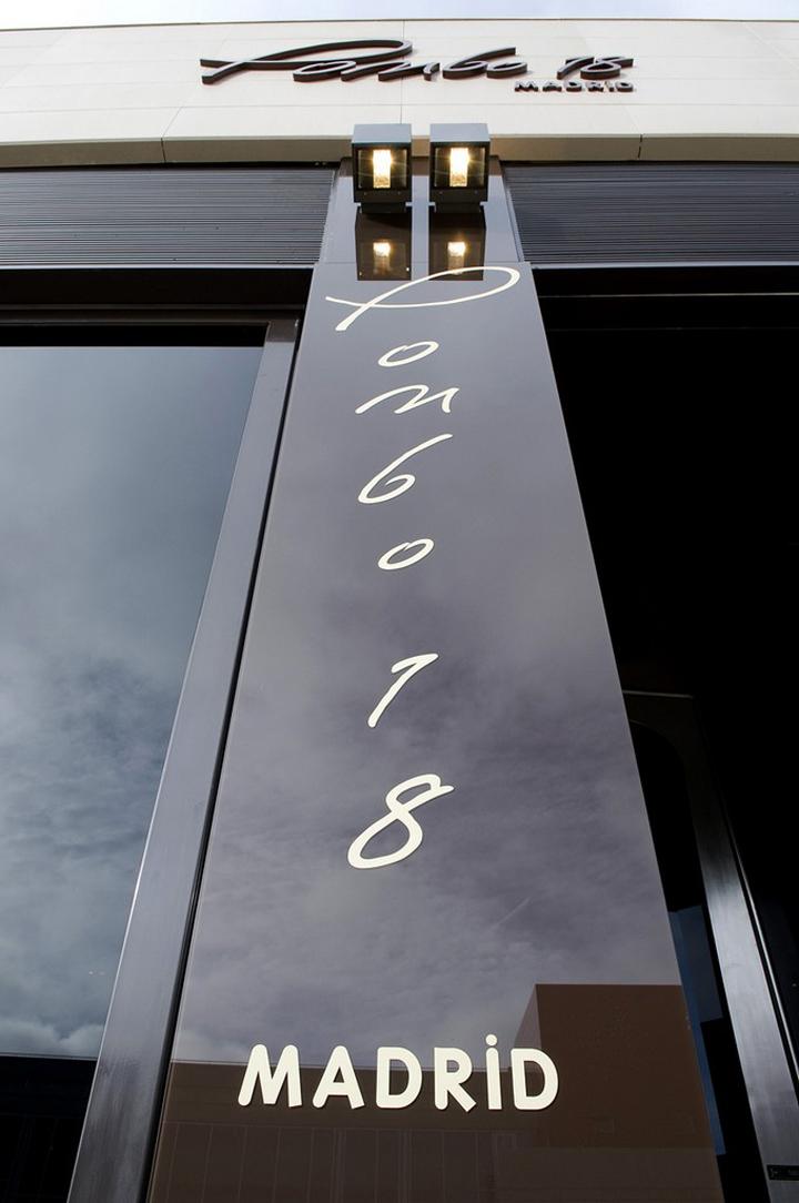 Pombo 18, el primer restaurante diseñado por Joaquín Torres