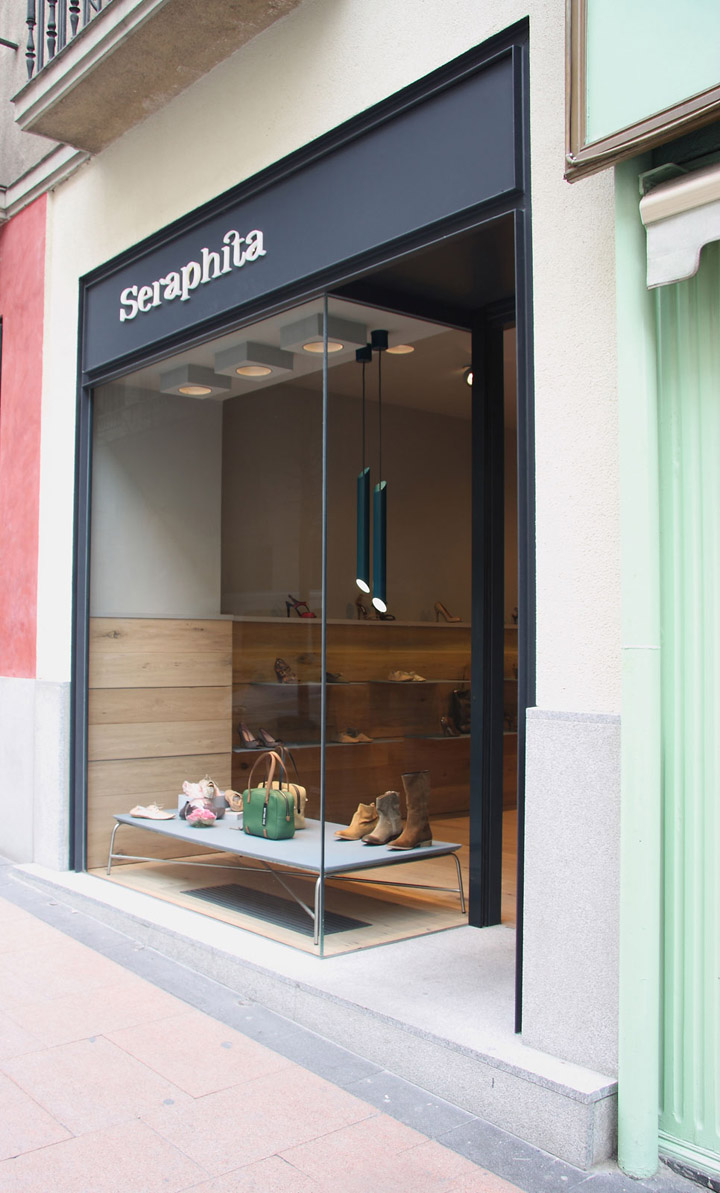 Shop Design: Seraphita Shoe Shop By Stone Designs, Madrid » Retail