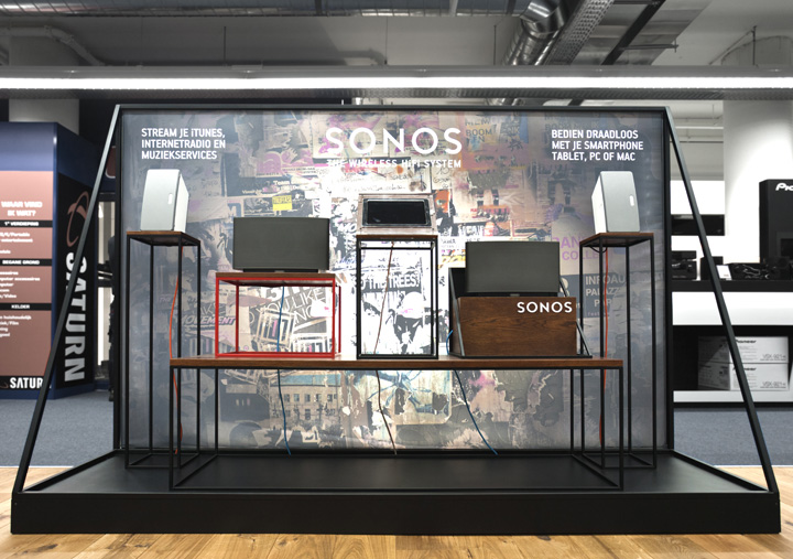 187 Sonos Amp Tomtom Shop In Shops In Saturn By Storeage