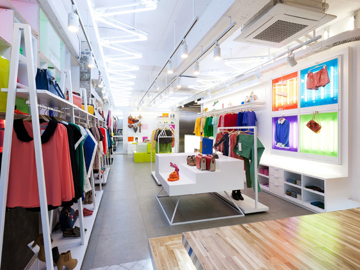 187 Spicy Color Flagship Store By M4 Design Seoul