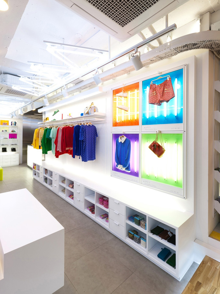 Spicy Color flagship store by m4 design Seoul 03 Spicy Color flagship store by m4 design, Seoul