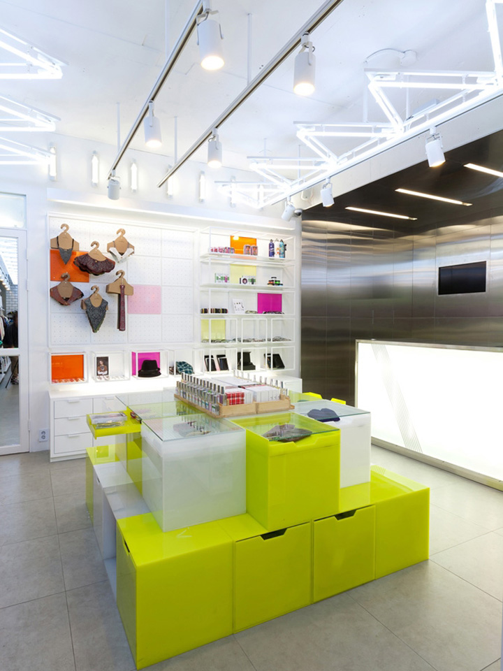 Spicy Color flagship store by m4 design Seoul 05 Spicy Color flagship store by m4 design, Seoul
