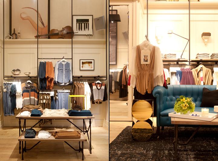Wilfred store Toronto Retail Design Blog