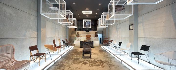 Furniture Showroom Interior Design Concepts ~ Clear glass retail design