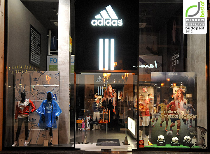187 Adidas Window Displays Summer 2012 Budapest