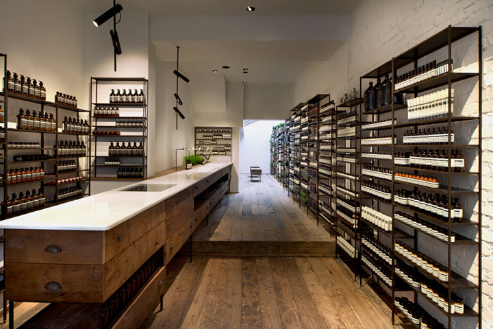 Reclaimed wood retail design blog - Small retail space collection ...