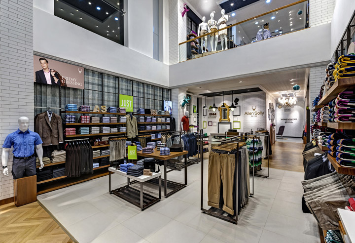 187 Allen Solly Fashion Store By Dalziel And Pow Bangalore