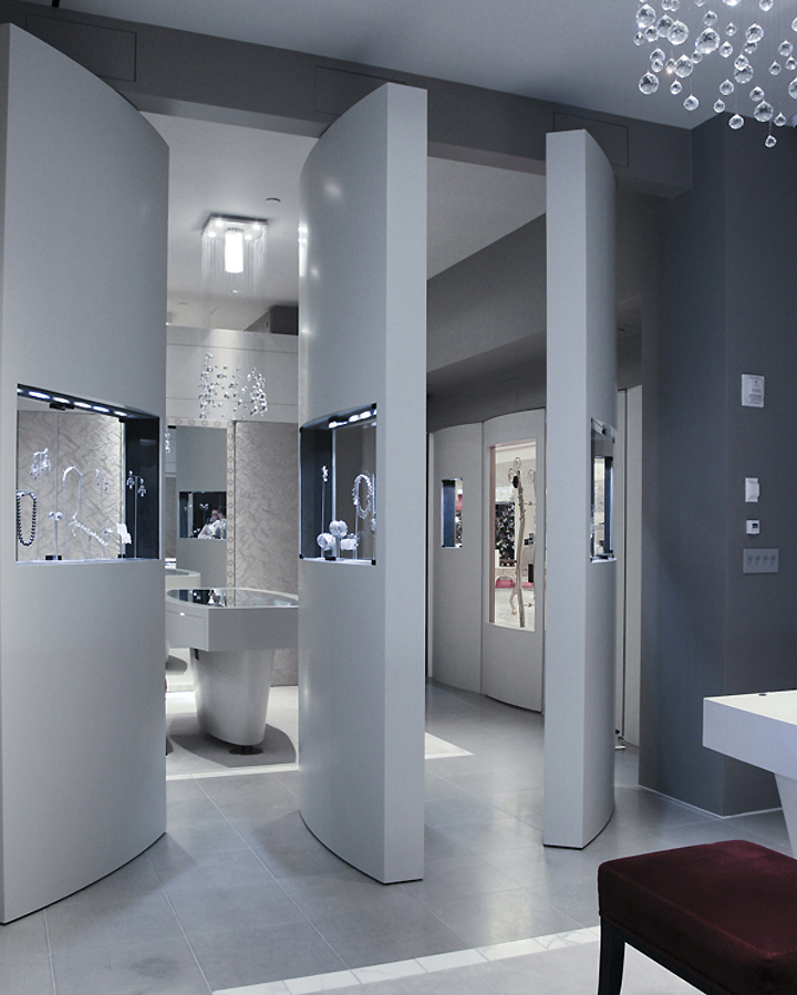 Anna hu haute joaillerie flagship by fzad architecture for High design jewelry nyc