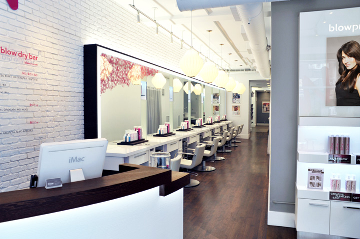 Blow salon by Sheridan&Co, New York » Retail Design Blog