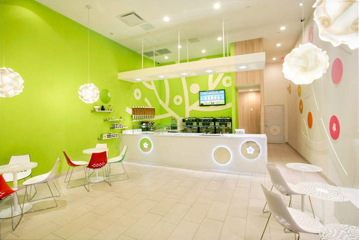 187 Ice Cream Bluberi Frozen Yogurt Shop By Emmanuelle