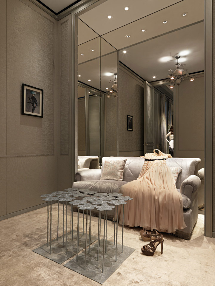 Dior taipei 101 flagship store by peter marino taipei for Boutique room design