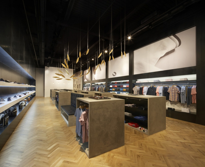 Fred perry store by buckleygrayyeoman london retail Interior design stores london