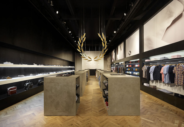 Fred perry store by buckleygrayyeoman london retail design blog Interior design stores london
