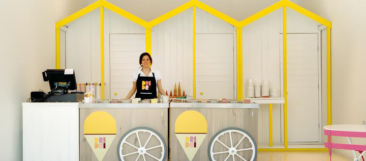 187 Ice Cream Dri Dri Italian Gelato By Elips Design London