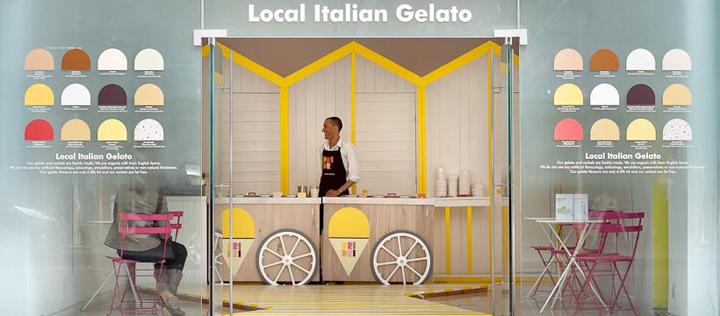 187 Ice Cream Dri Dri Italian Gelato By Elips Design London