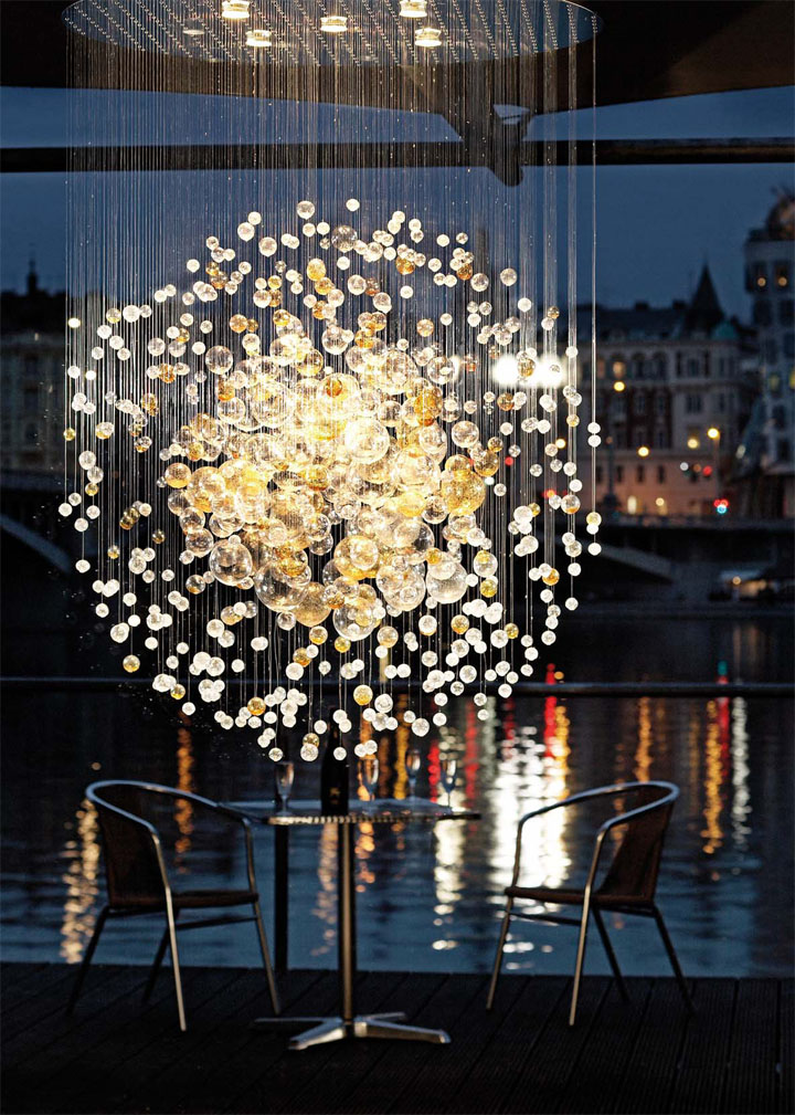 187 Light Building 2012 Frankfurt Bubbles In Space By