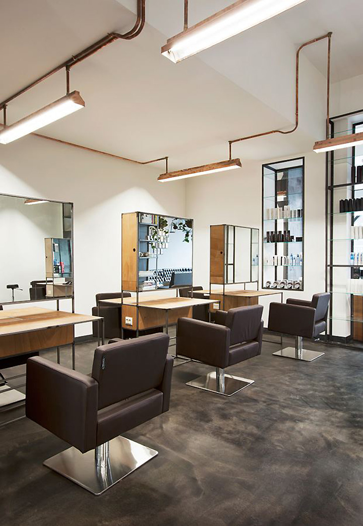 Mogeen Hair Salon Amsterdam Retail Design Blog