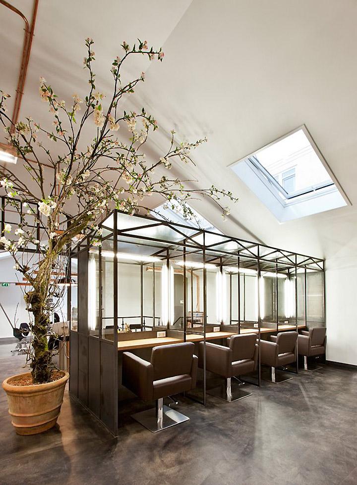 Mogeen hair salon amsterdam retail design blog for Meuble coiffure