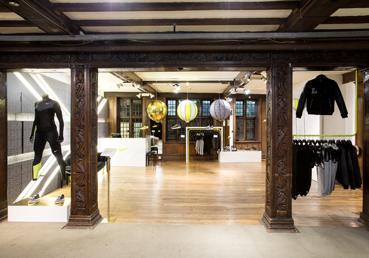 Nike X Liberty Olympics Pop up And Atrium By Hotel Creative London Retail Design Blog