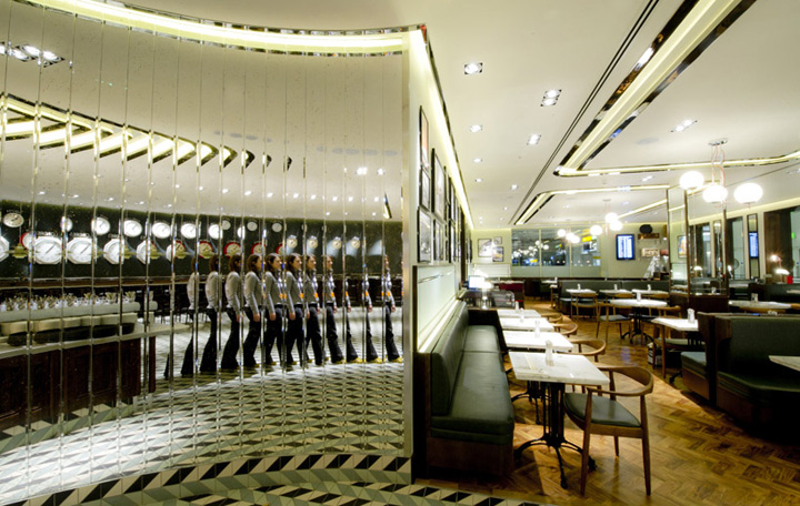 Oriel restaurant by Afroditi Krassa, London » Retail Design Blog