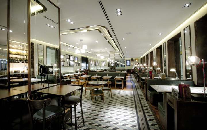 Oriel restaurant afroditi krassa london for Restaurant design london