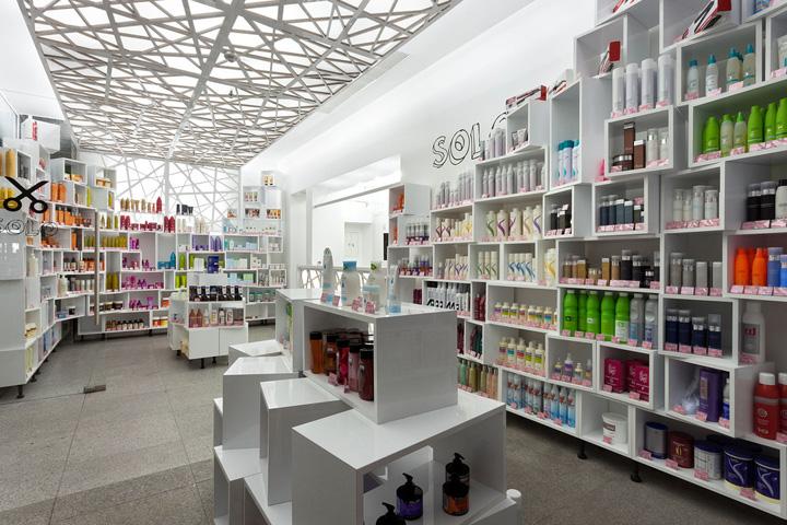 Solo Cosmetics Showroom By Studio Belenko Dnepropetrovsk