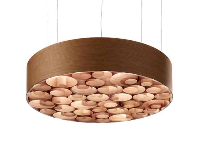 wood veneer lighting. the wood veneer lighting