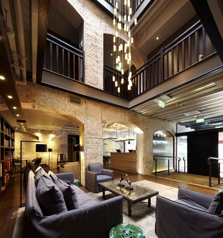 The harbour rocks hotel by sjb interiors sydney retail for Sydney boutique hotel