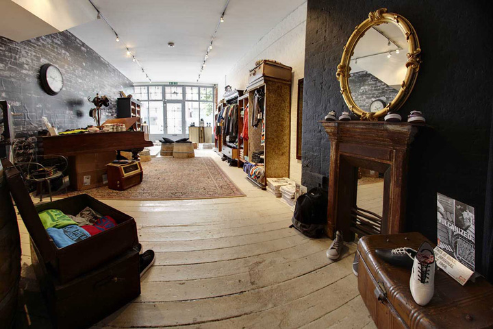 Vans pop up store by green room london retail design blog for Green room retail design