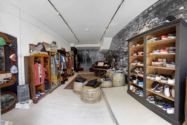 best sneakers 4c8d2 00c97 Vans pop-up store by Green Room, London