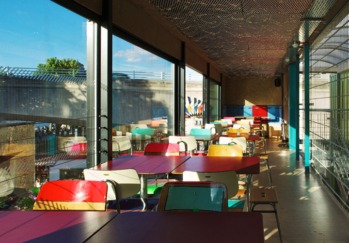 Wahaca container restaurant Softroom London 04 Wahaca shipping container restaurant by Softroom, London