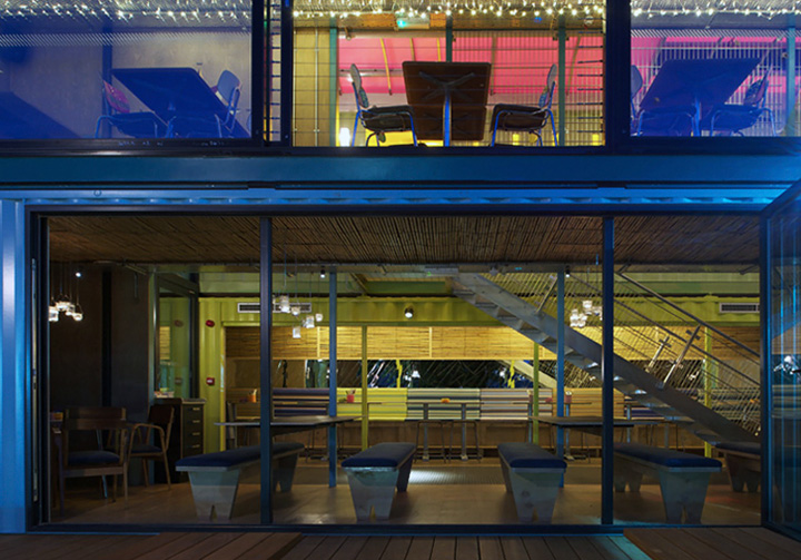 Wahaca container restaurant Softroom London 05 Wahaca shipping container restaurant by Softroom, London