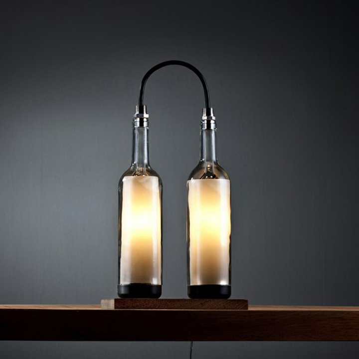 Wine Bottle Lamp Series by John Meng 02 Wine Bottle Lamp Series by John Meng